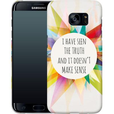 Samsung Galaxy S7 Edge Smartphone Huelle - Truth von Mareike Bohmer