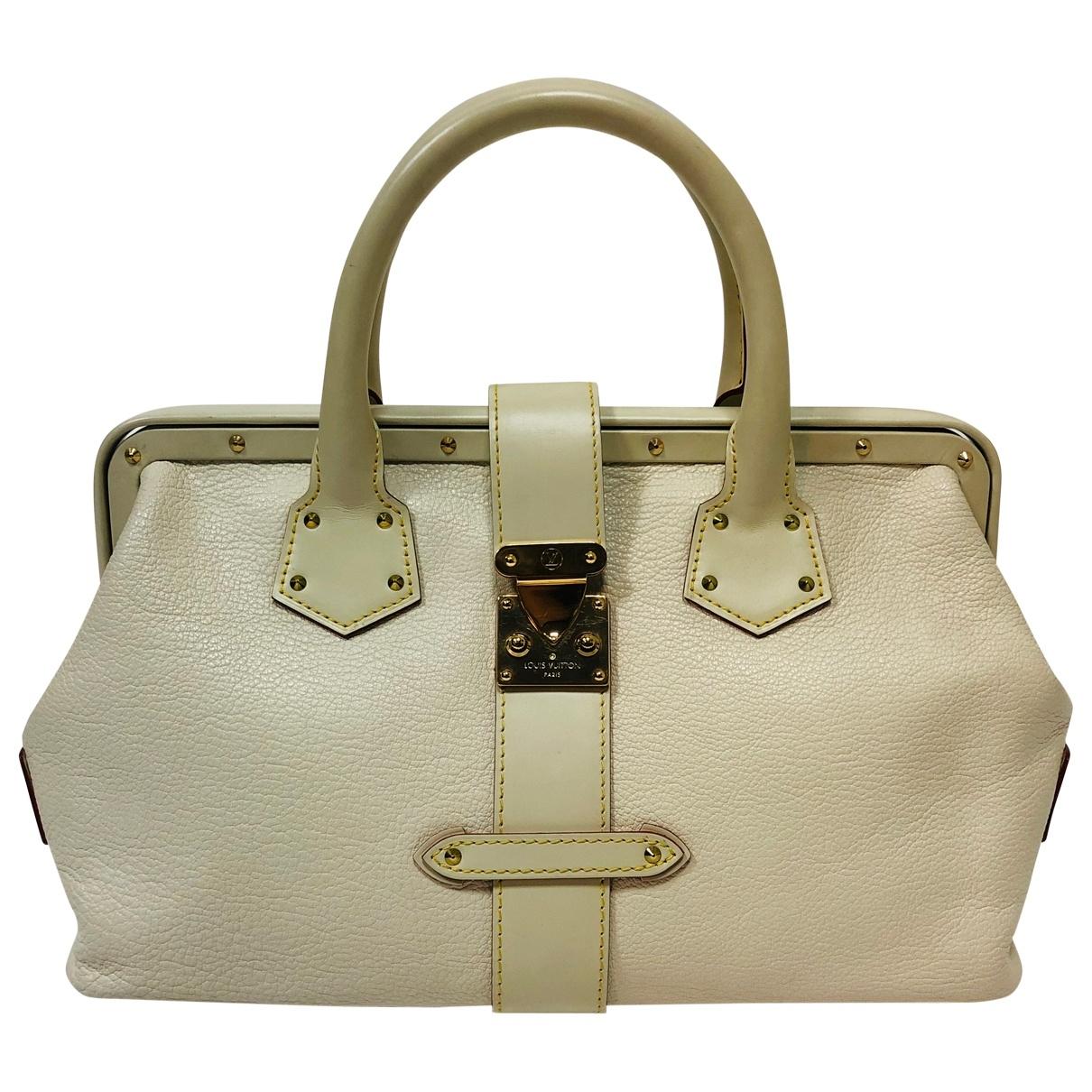 Louis Vuitton L'Ingénieux Beige Leather handbag for Women \N