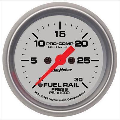 Auto Meter Ultra-Lite Fuel Rail Pressure Gauge - 4386