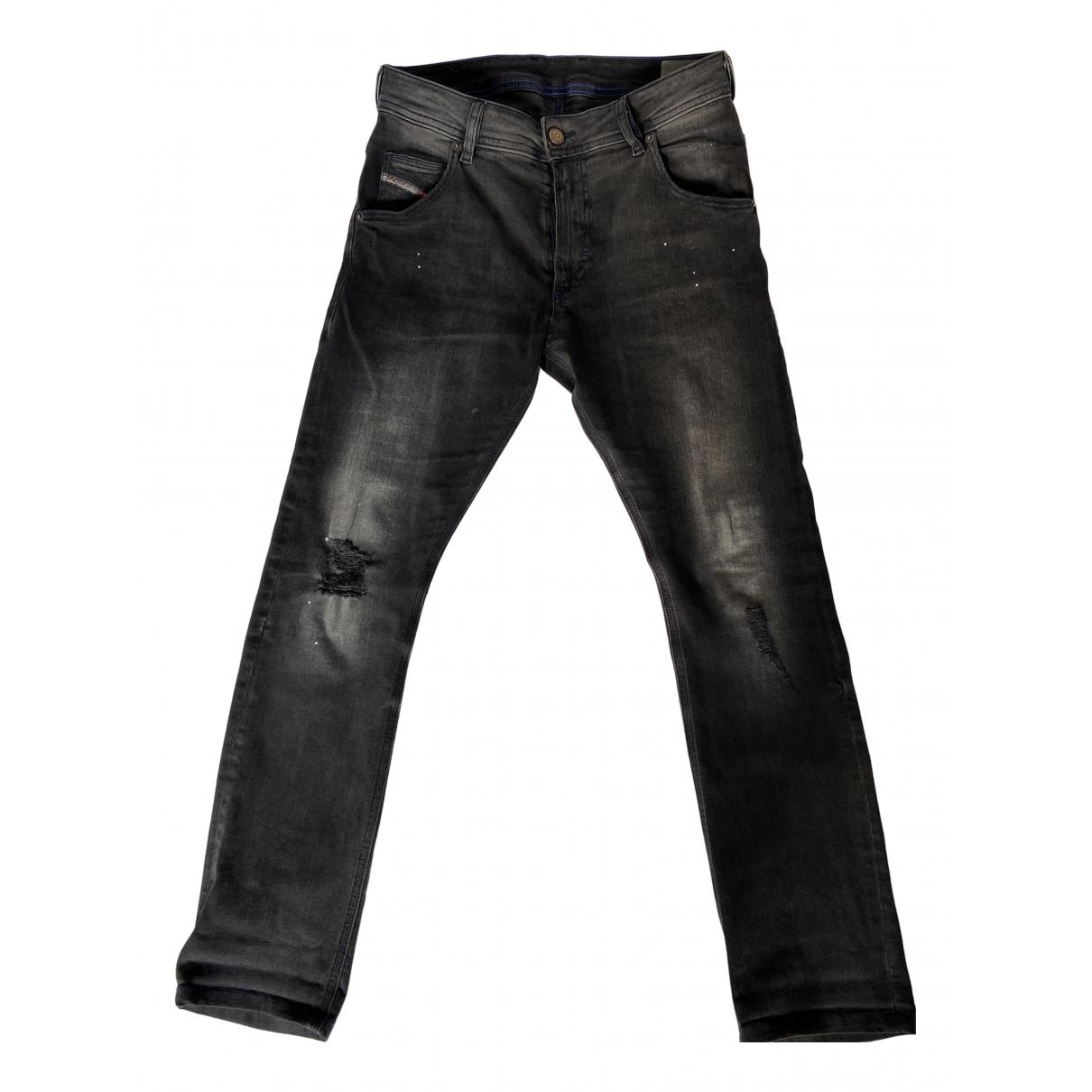 Diesel - Pantalon   pour enfant en denim - noir