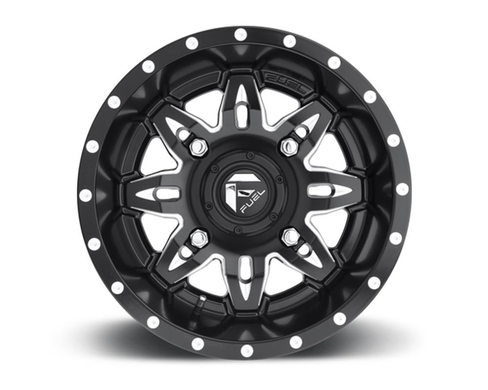 Fuel UTV D567 Lethal Black & Milled 1-Piece Cast Wheel 15x7 4x156 13mm