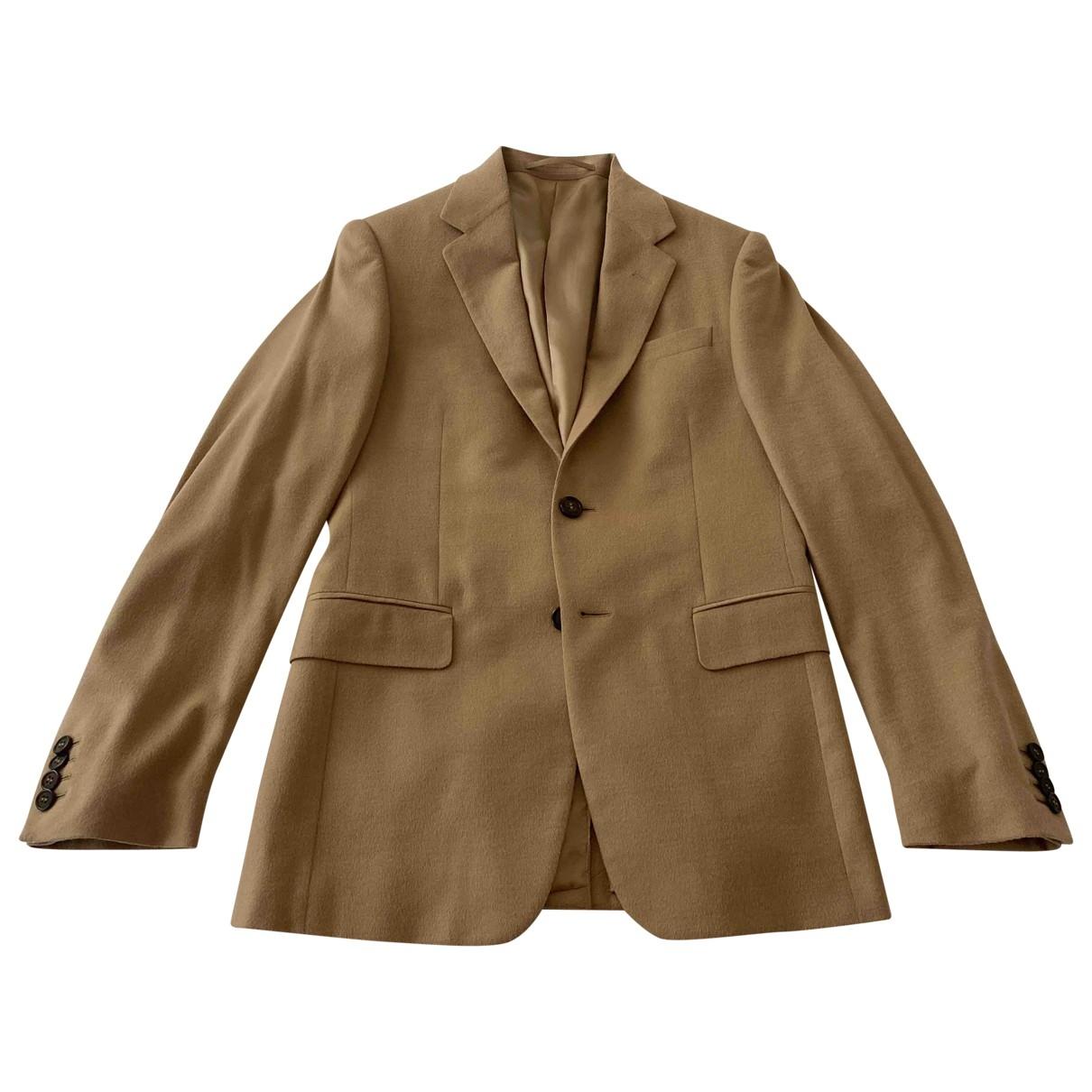 Prada \N Beige Wool jacket  for Men 44 IT