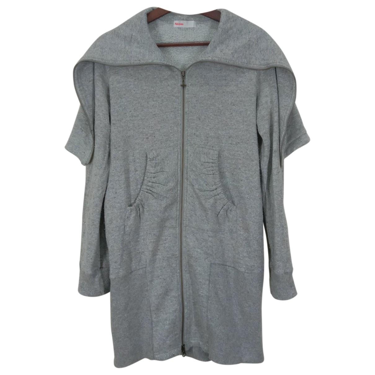 Né.net \N Grey Cotton jacket for Women 2 0-5