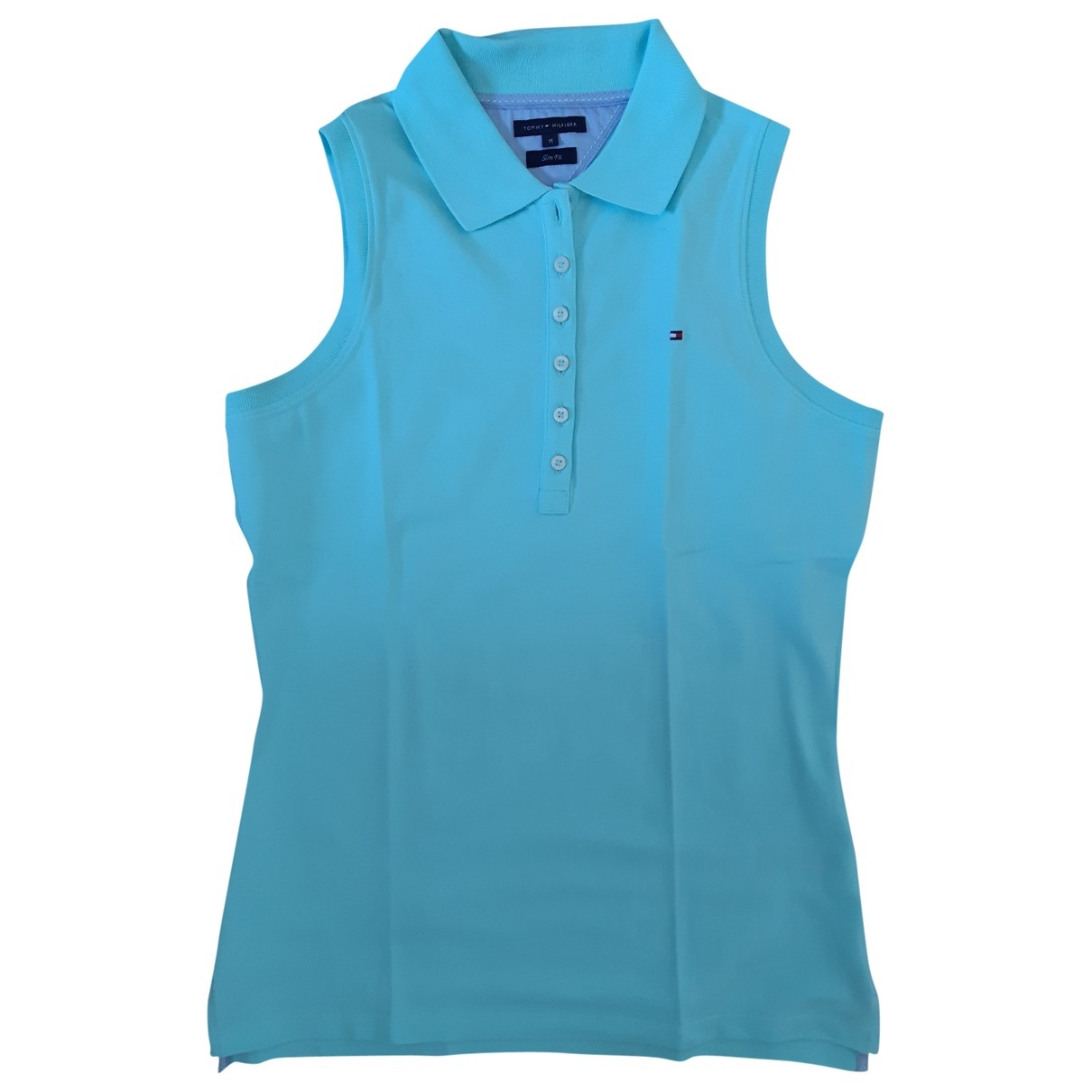 Tommy Hilfiger \N Green Cotton  top for Women M International