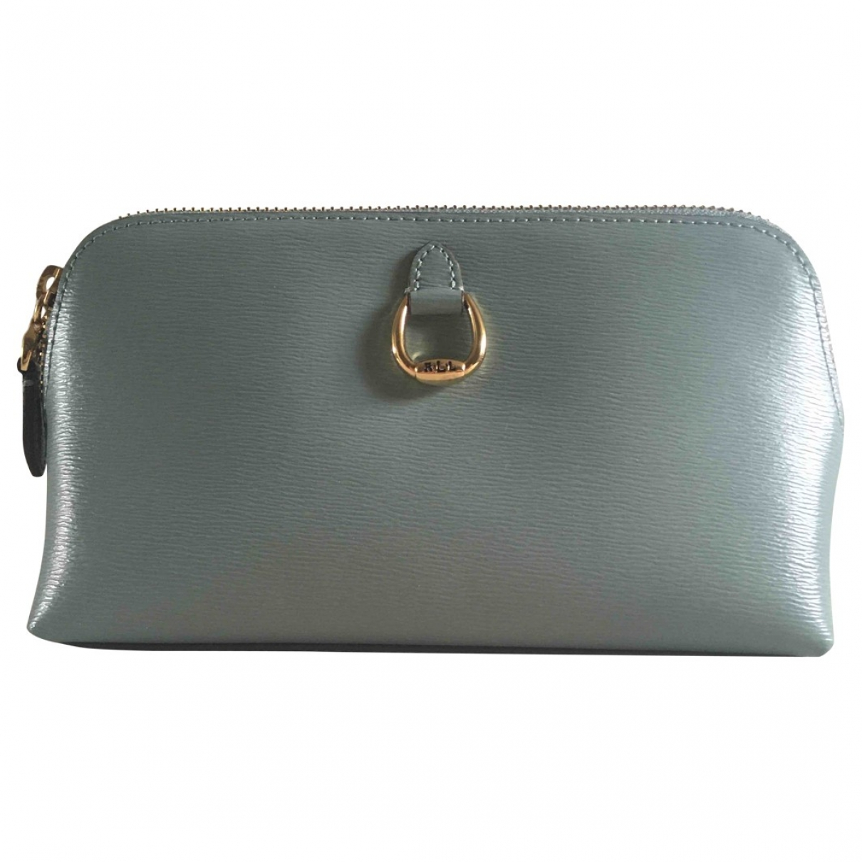 Lauren Ralph Lauren \N Turquoise Leather Purses, wallet & cases for Women \N