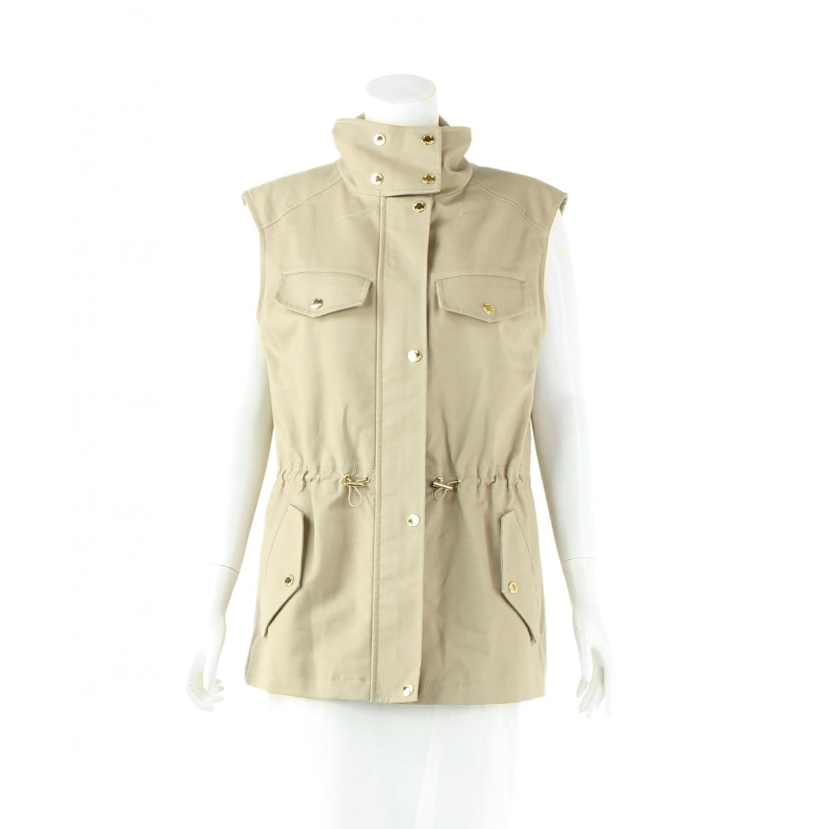 Michael Kors - Veste   pour femme en coton - beige