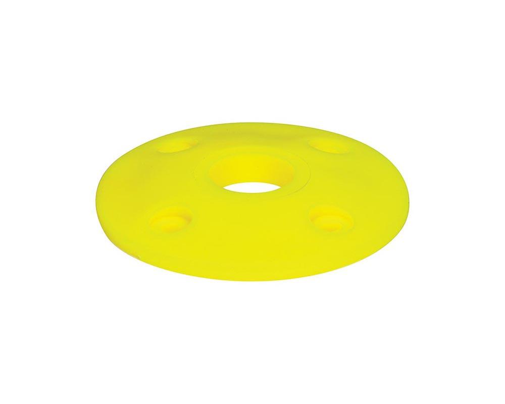 Allstar Performance ALL18438 Scuff Plate Plastic Fluorescent Yellow 4pk ALL18438