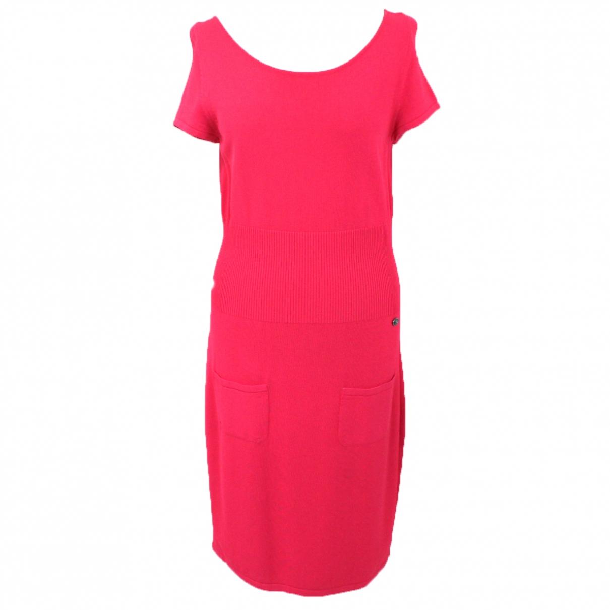 Chanel \N Kleid in  Rosa Viskose