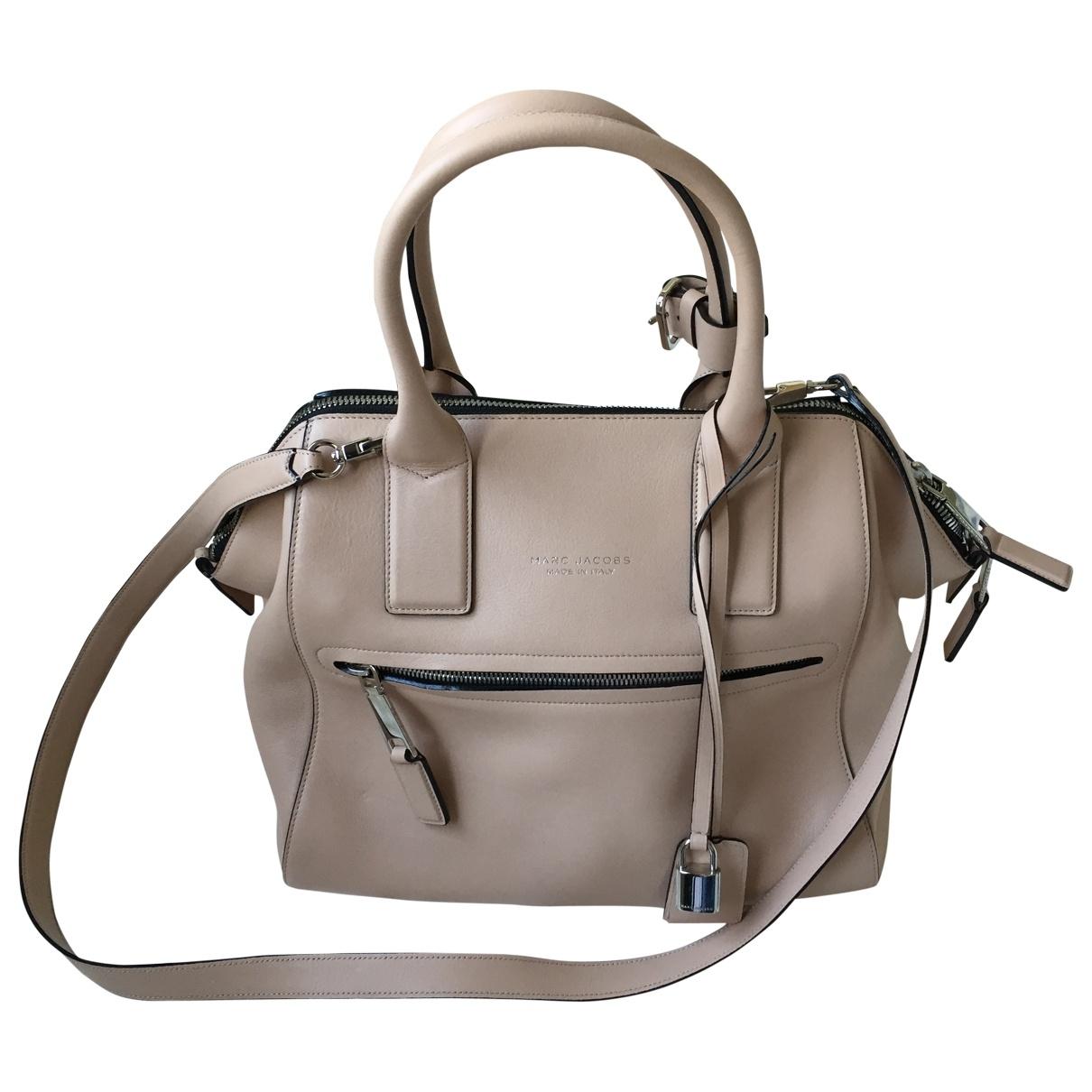 Marc Jacobs \N Handtasche in  Beige Leder