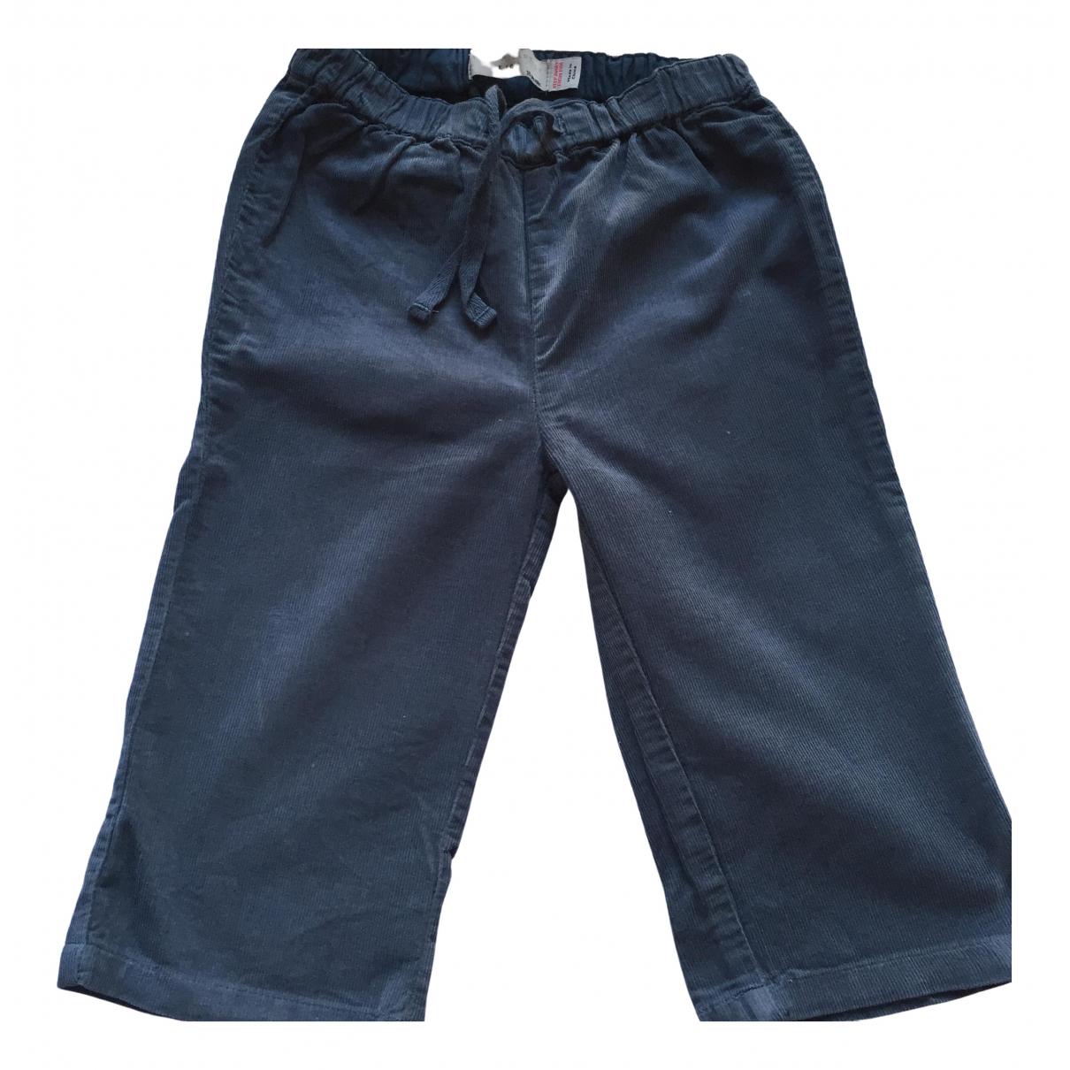 Stella Mccartney - Pantalon   pour enfant en coton - bleu