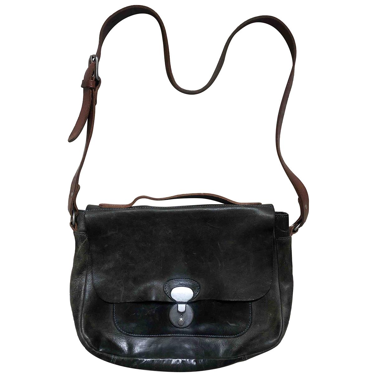 Ally Capellino N Grey Leather handbag for Women N