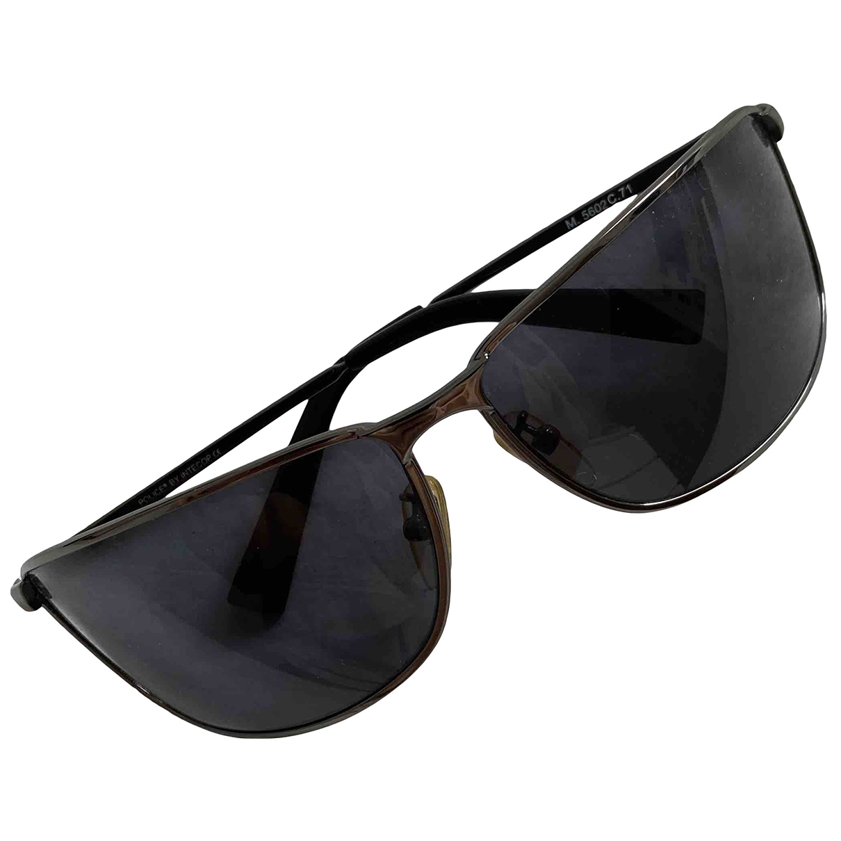 Porsche Design \N Anthracite Metal Sunglasses for Men \N