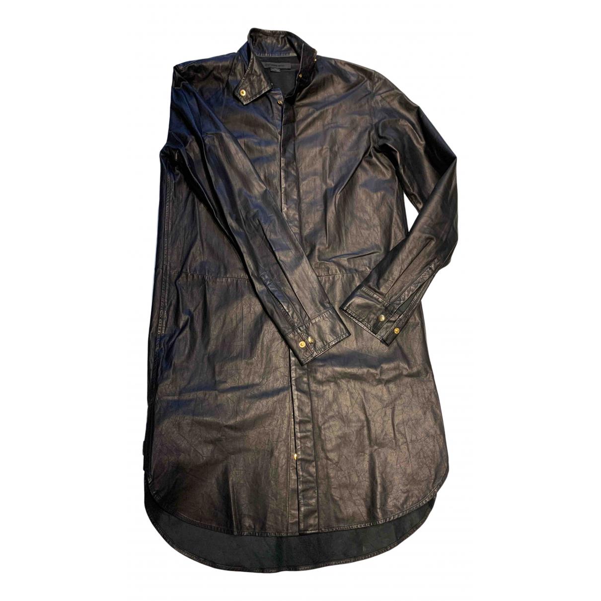 Alexander Wang \N Black Leather dress for Women 2 US