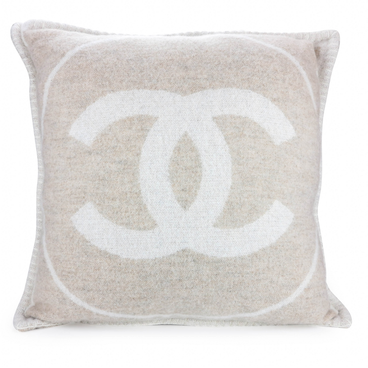 Chanel Cambon Beige Wool Textiles for Life & Living \N