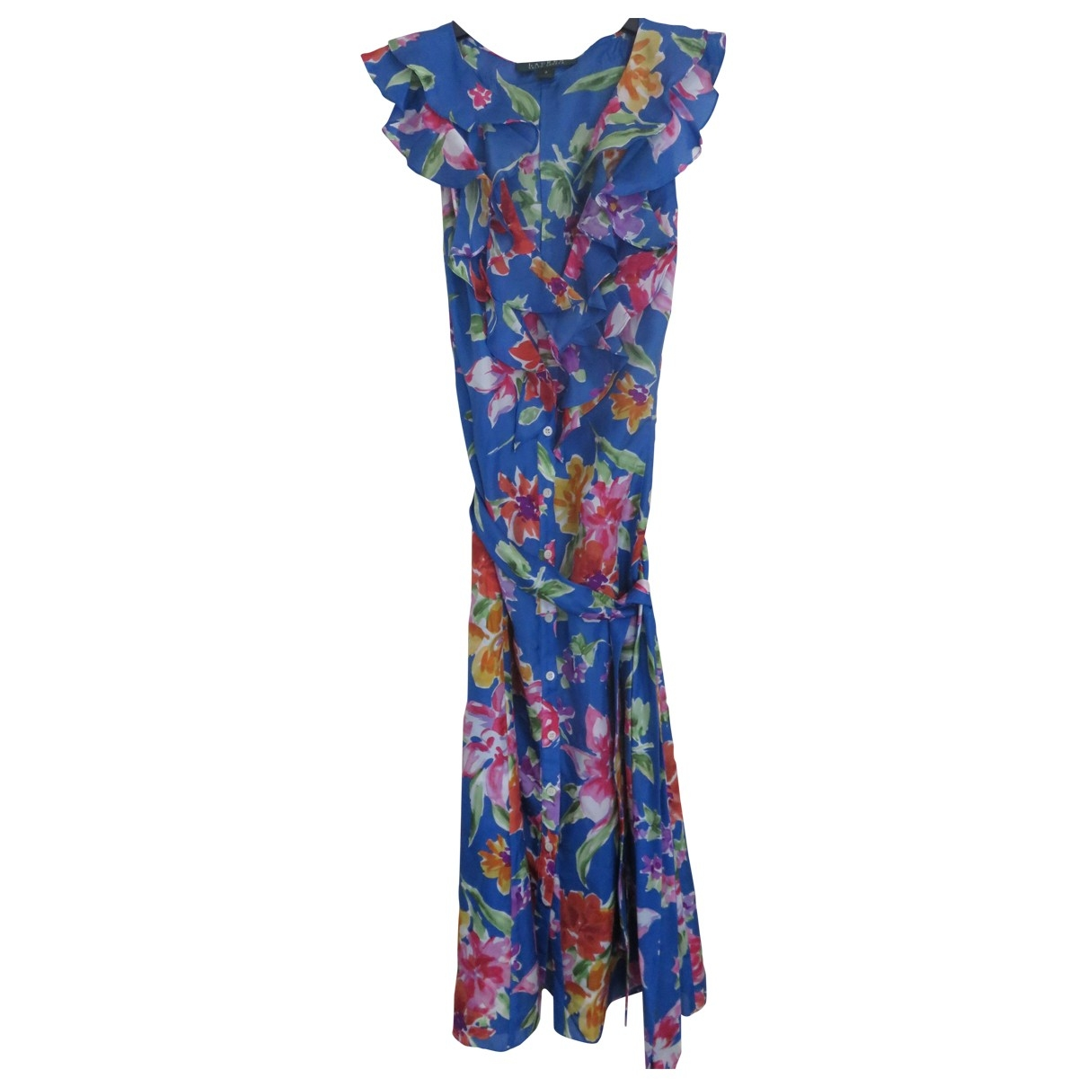 Lauren Ralph Lauren \N Multicolour Silk dress for Women 2 US