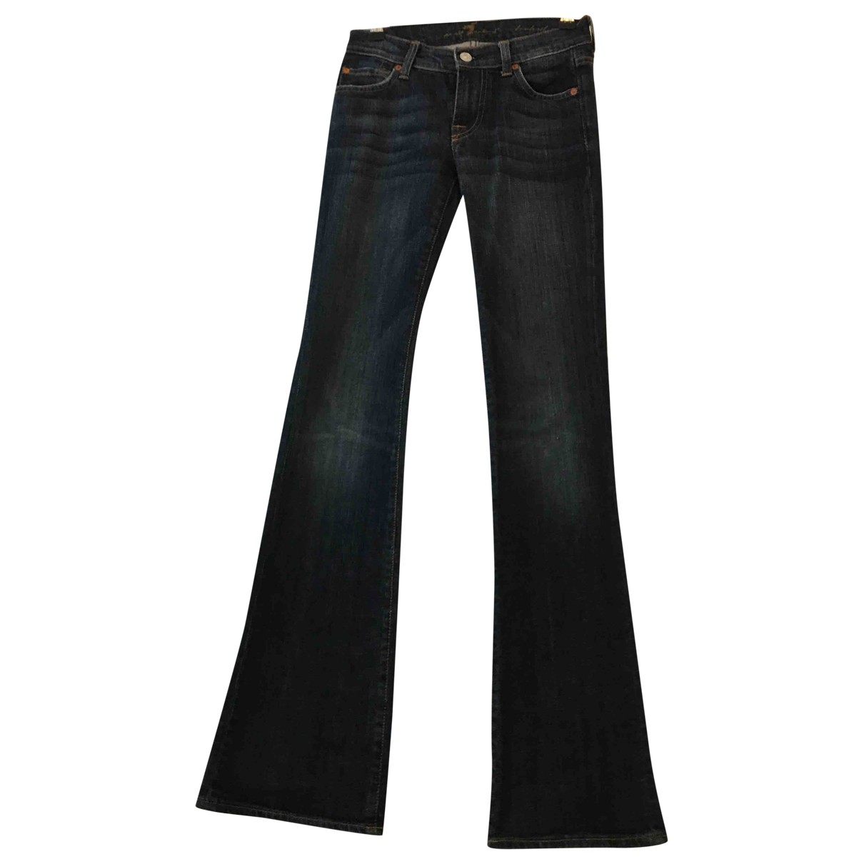7 For All Mankind N Blue Denim - Jeans Jeans for Women 24 US
