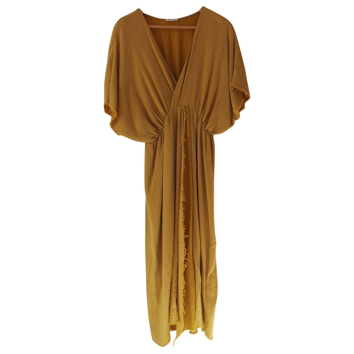 Masscob \N Yellow Cotton dress for Women M International