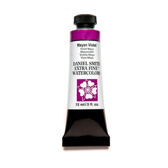 Daniel Smith Extra Fine™ Watercolor, 15 ml Paint in Mayan Violet | Michaels®