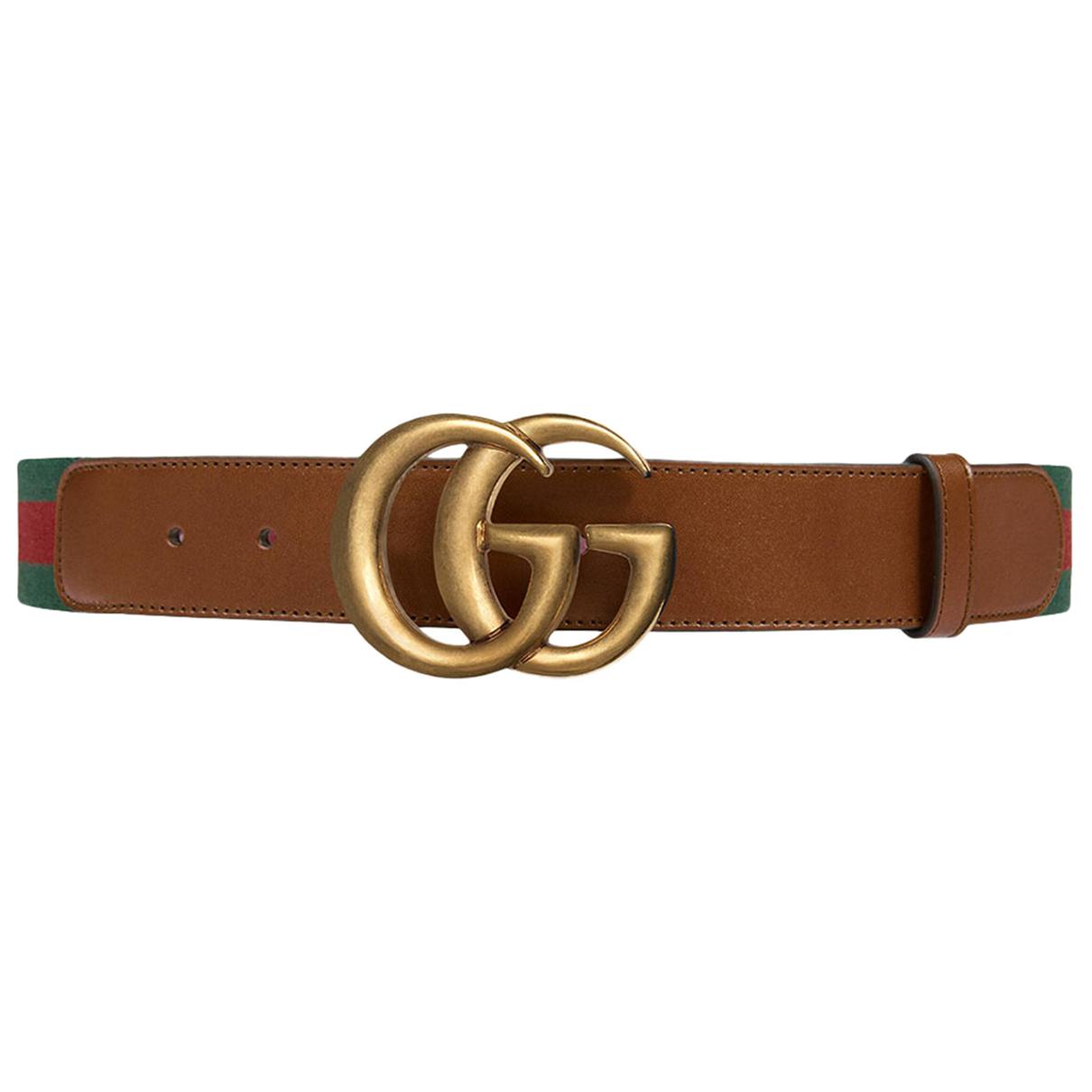Gucci - Ceinture GG Buckle pour homme en toile - multicolore