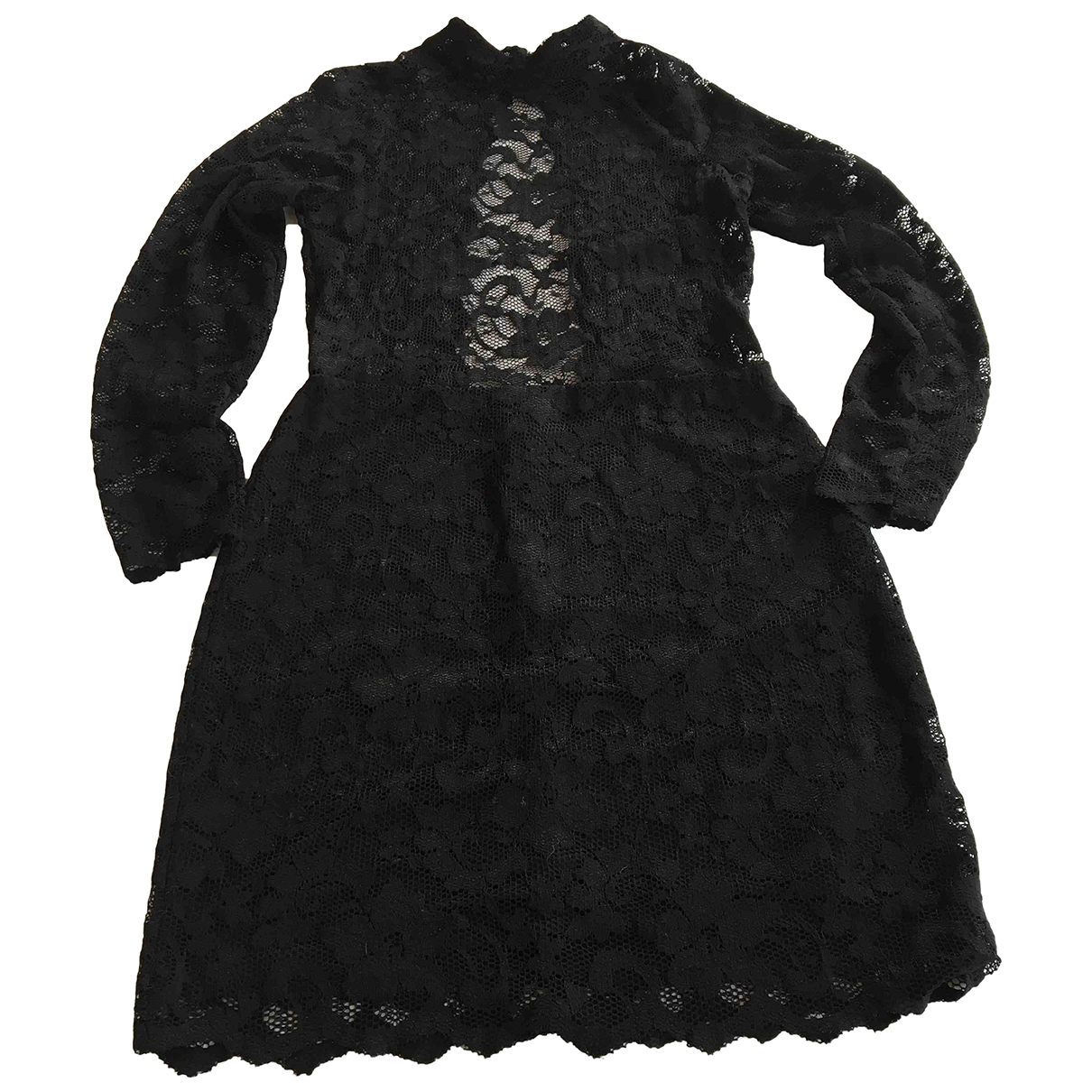 Samsoe & Samsoe - Robe   pour femme en dentelle - noir