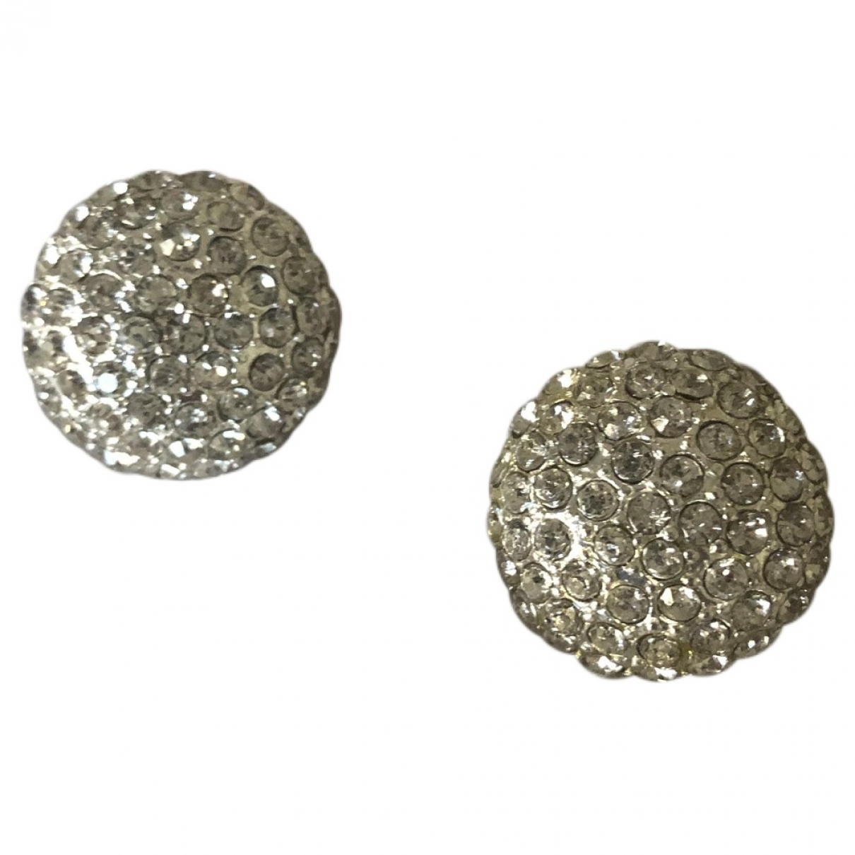 Non Signé / Unsigned \N Silver Metal Earrings for Women \N