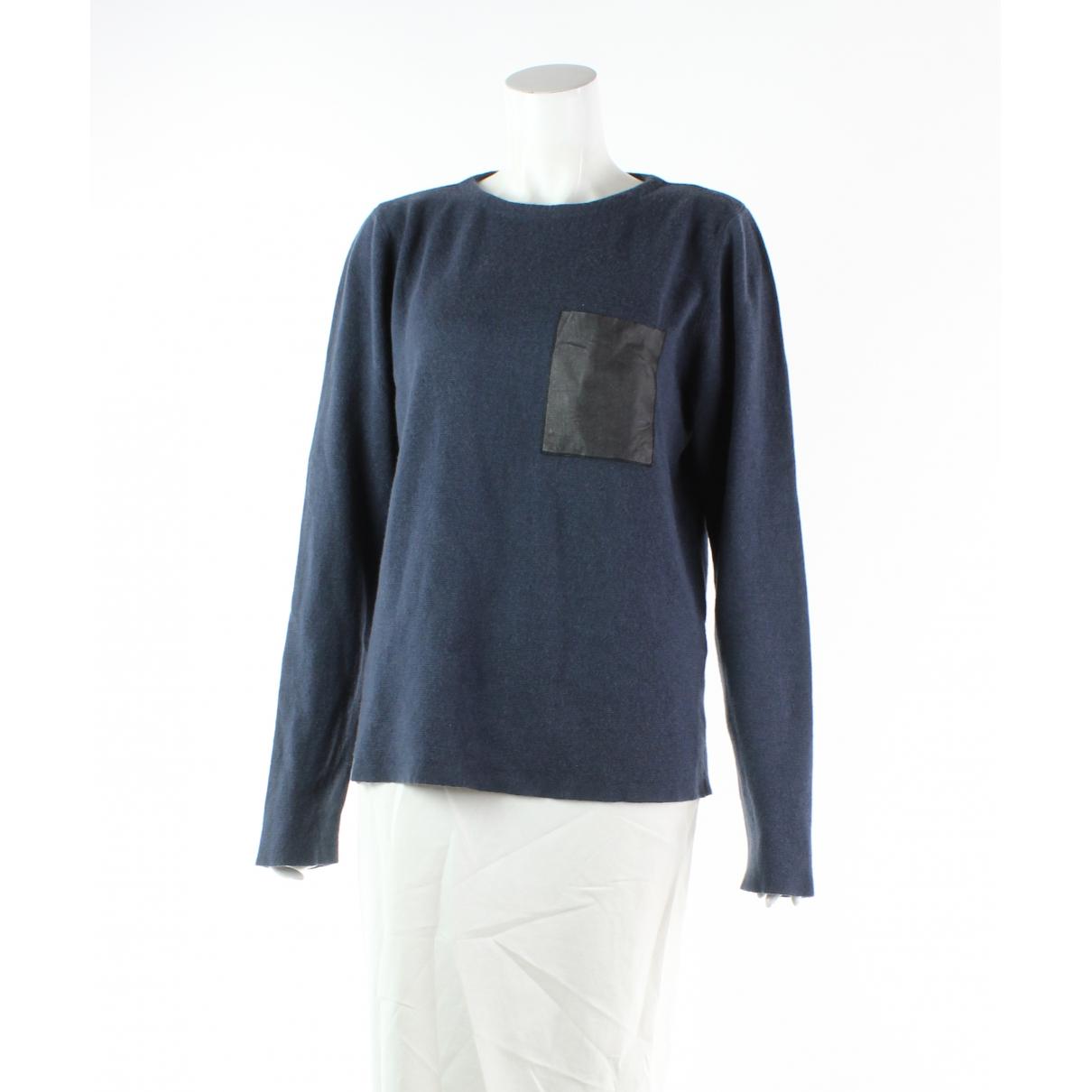 Sandro - Combinaison   pour femme en laine - marine