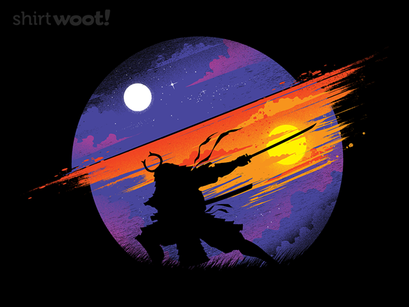 Sunset Samurai T Shirt
