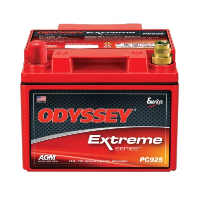 Odyssey Batteries Extreme Series, Universal, 330 CCA, Top Post - PC925LMJT