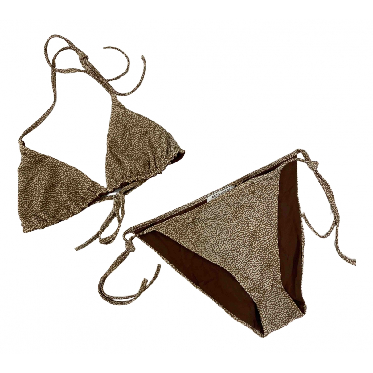 Non Signé / Unsigned \N Brown Swimwear for Women 42 IT