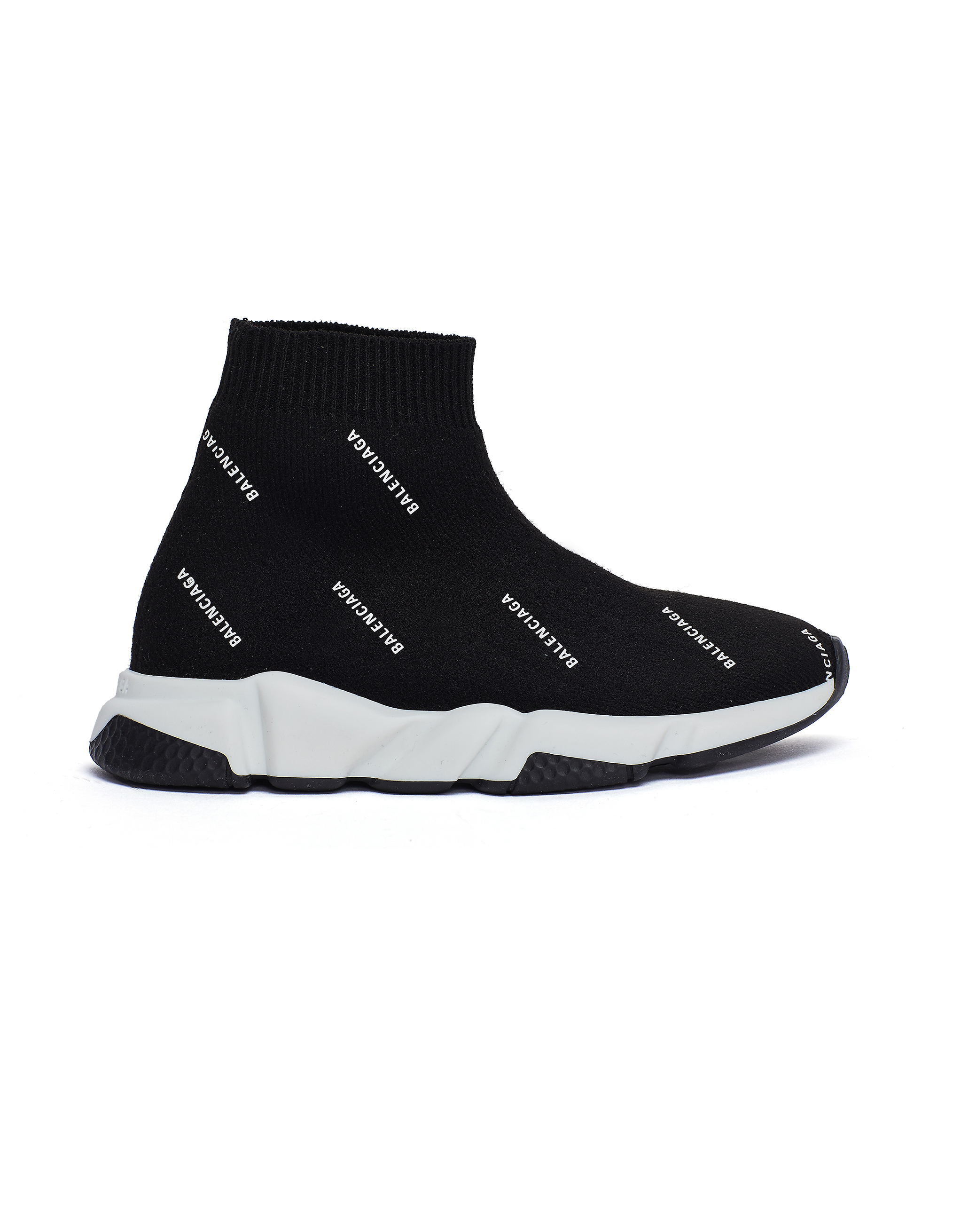 Balenciaga Kids Black Speed Trainer Sneakers