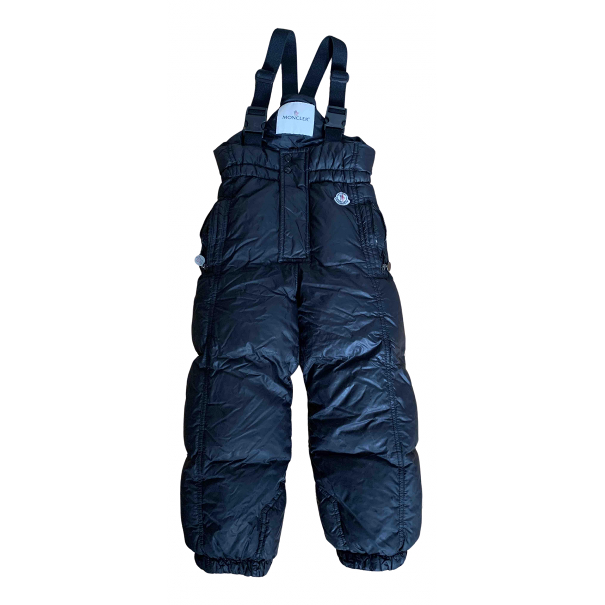 Moncler N Black Trousers for Kids 4 years - up to 102cm FR