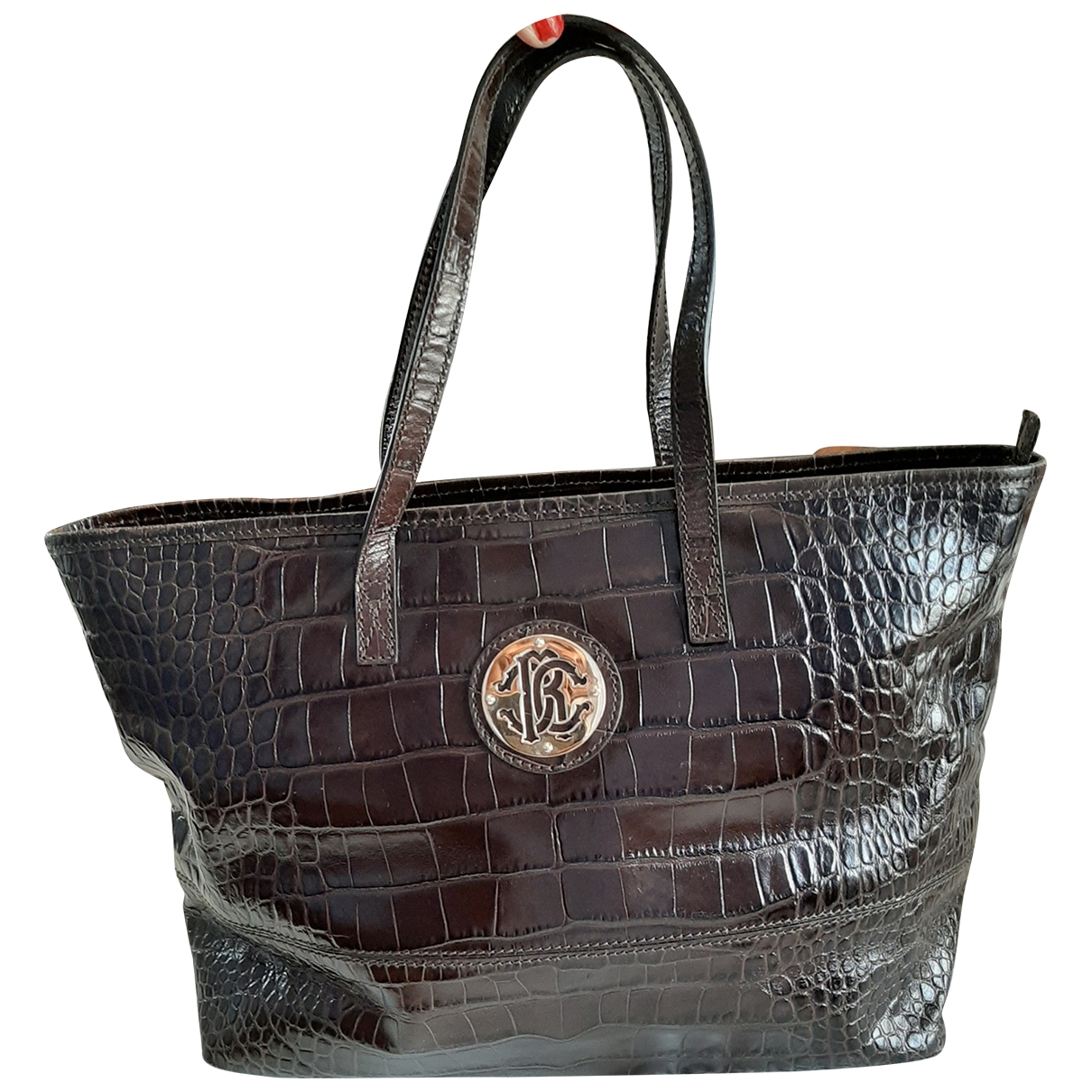 Roberto Cavalli \N Brown Leather handbag for Women \N