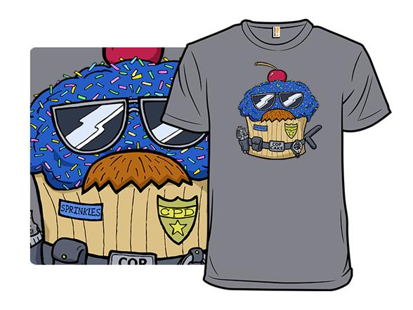 Cop Cake T Shirt
