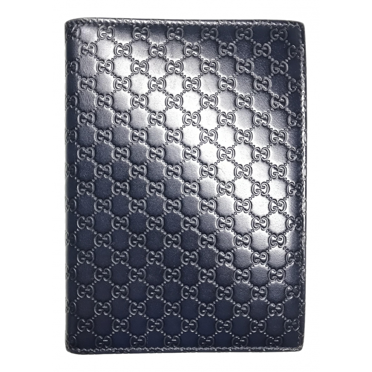 Gucci \N Navy Leather Home decor for Life & Living \N