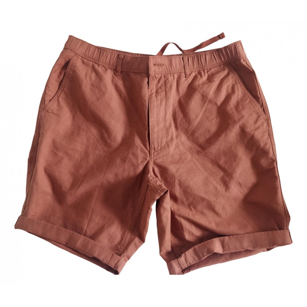 Uniqlo \N Orange Cotton Shorts for Men L International