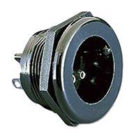 Bulgin Miniature Power Connector Panel Mount, Solder Termination, 3A, 250 V ac (5)