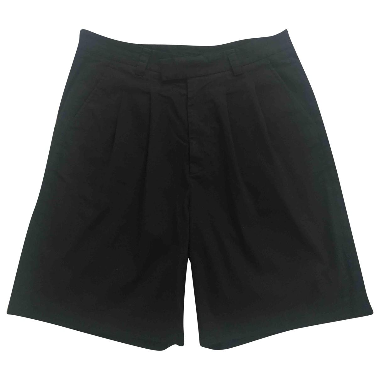 Gucci \N Shorts in  Schwarz Baumwolle