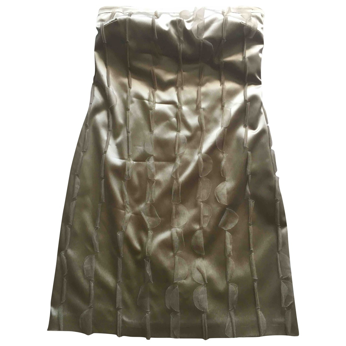 Non Signé / Unsigned \N Silk dress for Women 42 IT