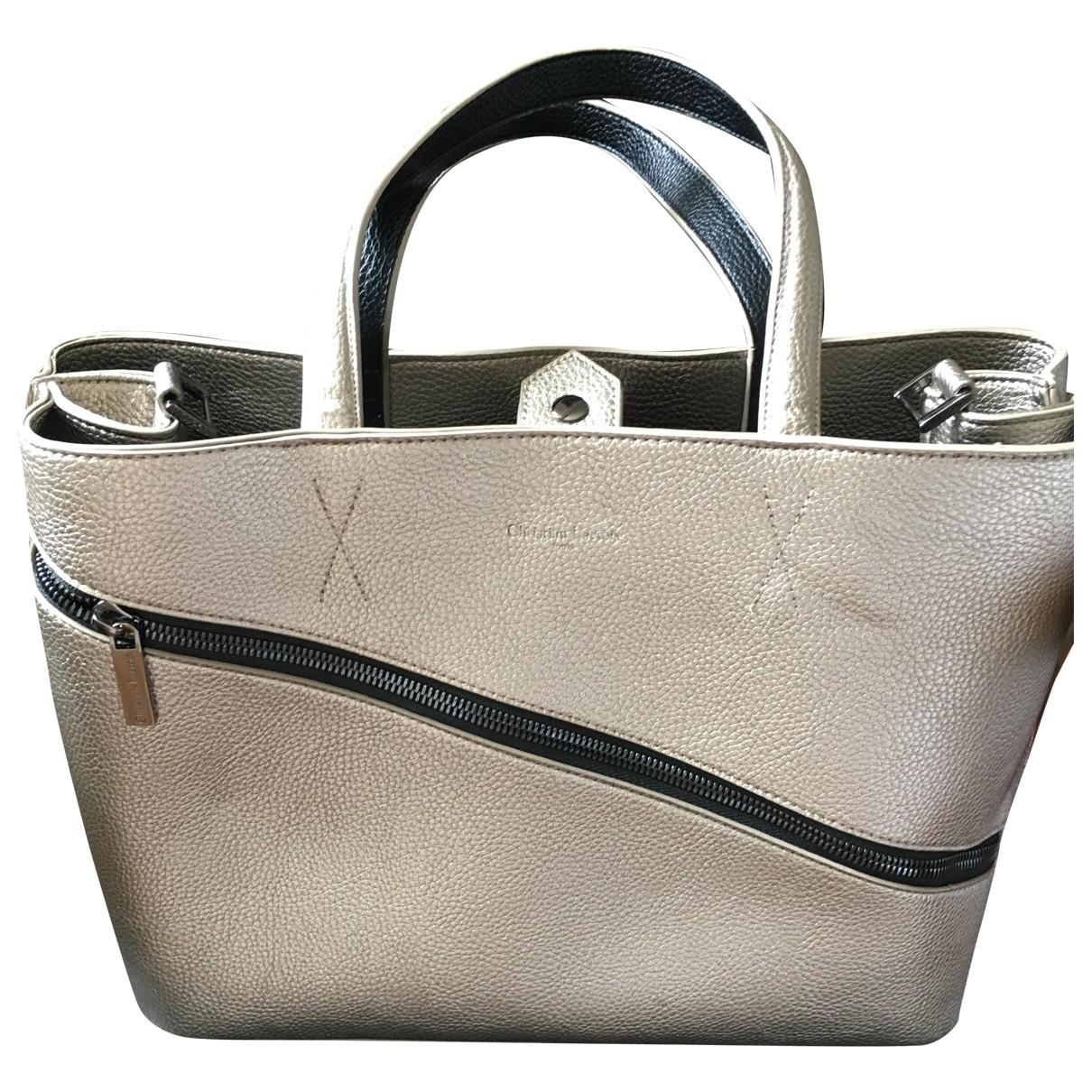 Christian Lacroix \N Metallic Leather handbag for Women \N