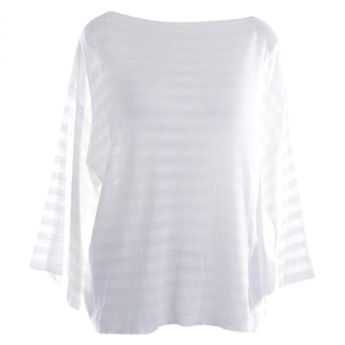 Autre Marque - Pull   pour femme en coton - blanc