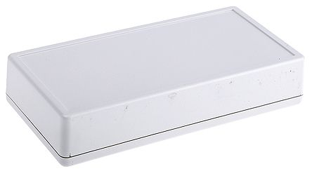 Hammond 1599 Grey ABS Handheld Enclosure, 170 x 85.5 x 34.75mm With Integral Battery Compartment
