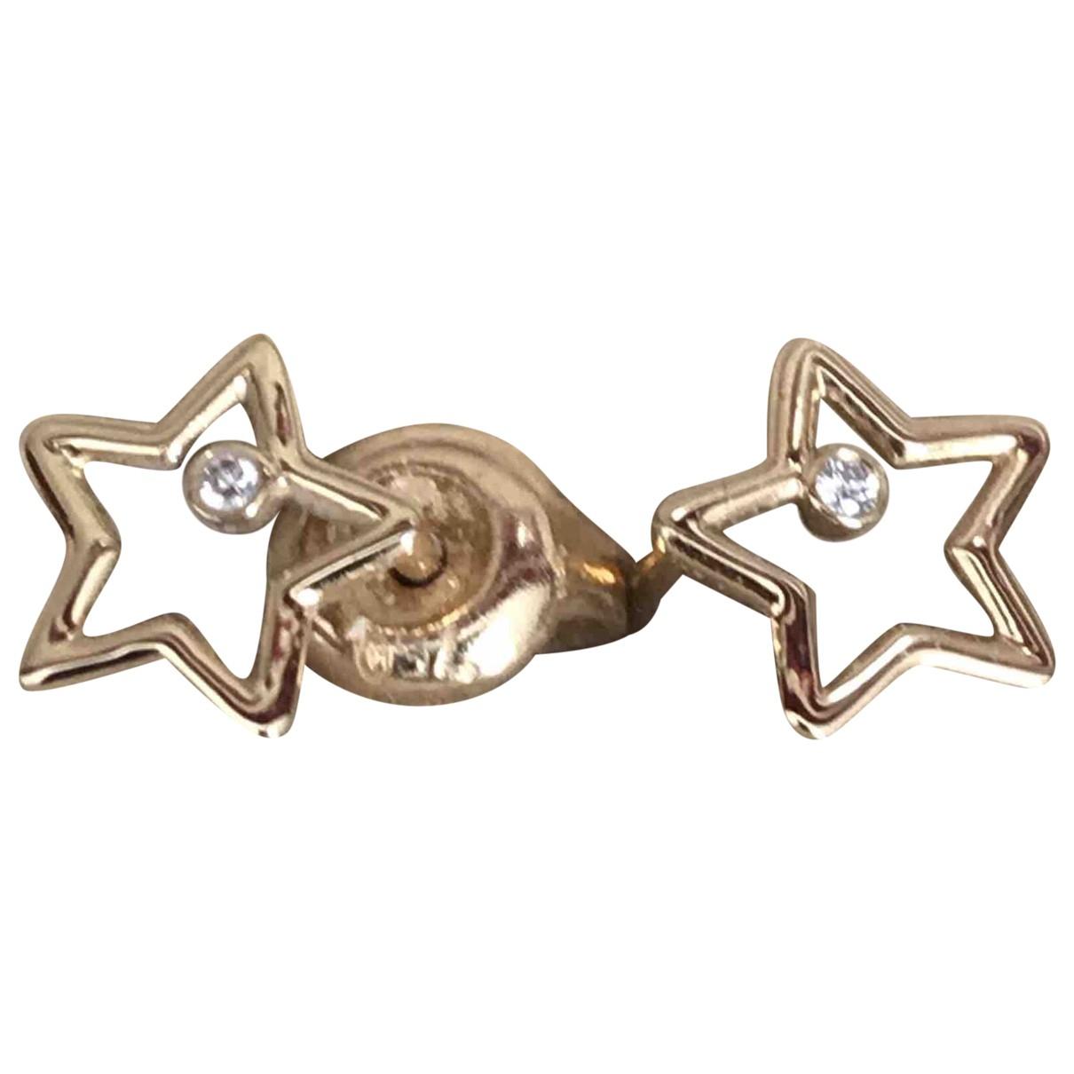 Aurelie Bidermann \N Yellow Yellow gold Earrings for Women \N