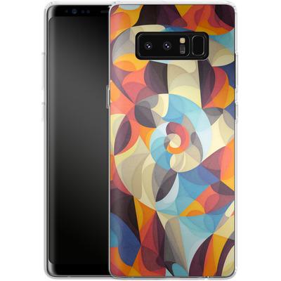 Samsung Galaxy Note 8 Silikon Handyhuelle - Colour Power von Georgiana Teseleanu