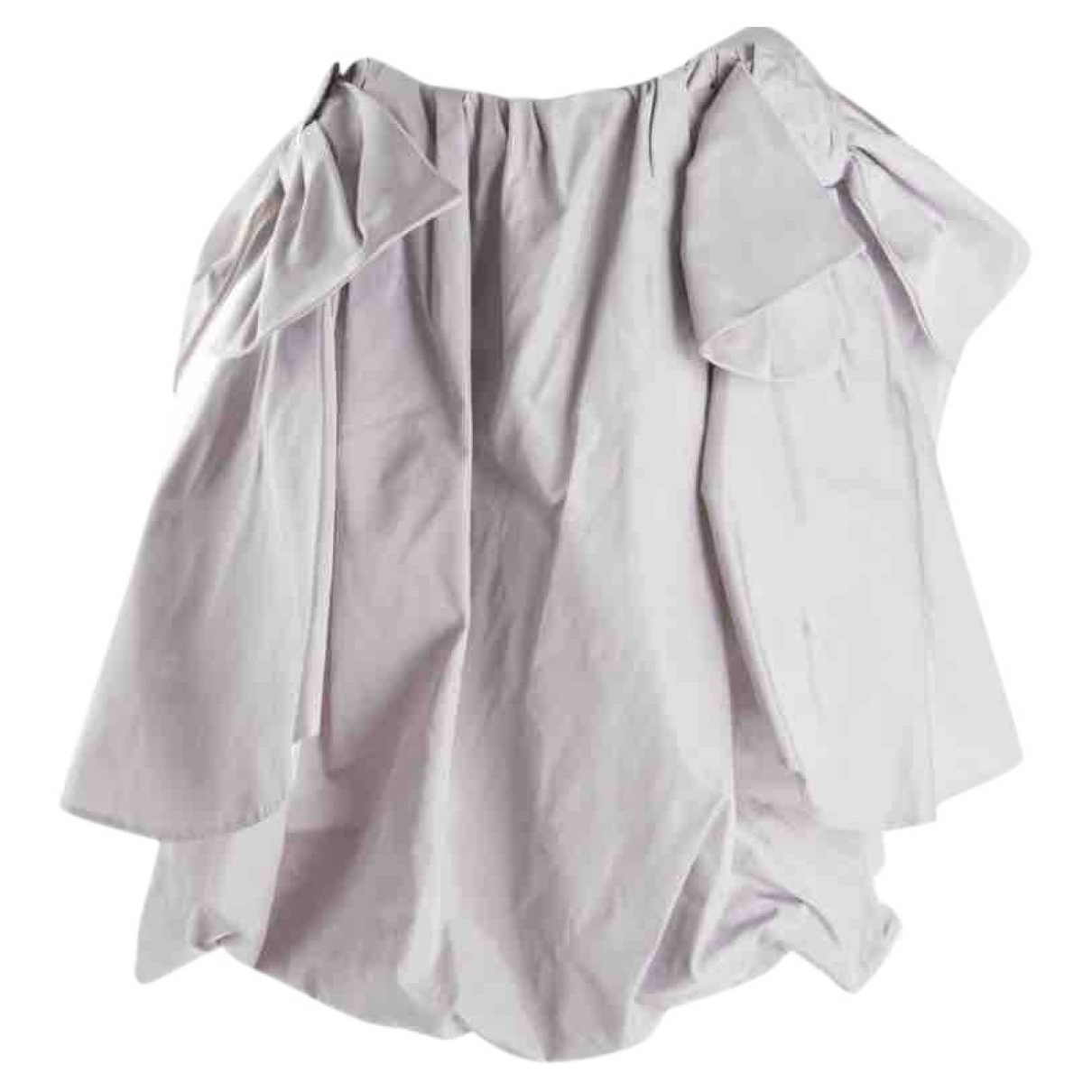 Mini falda de Seda Yves Saint Laurent