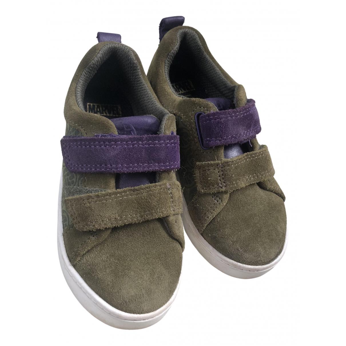 Clarks \N Sneakers in  Khaki Veloursleder