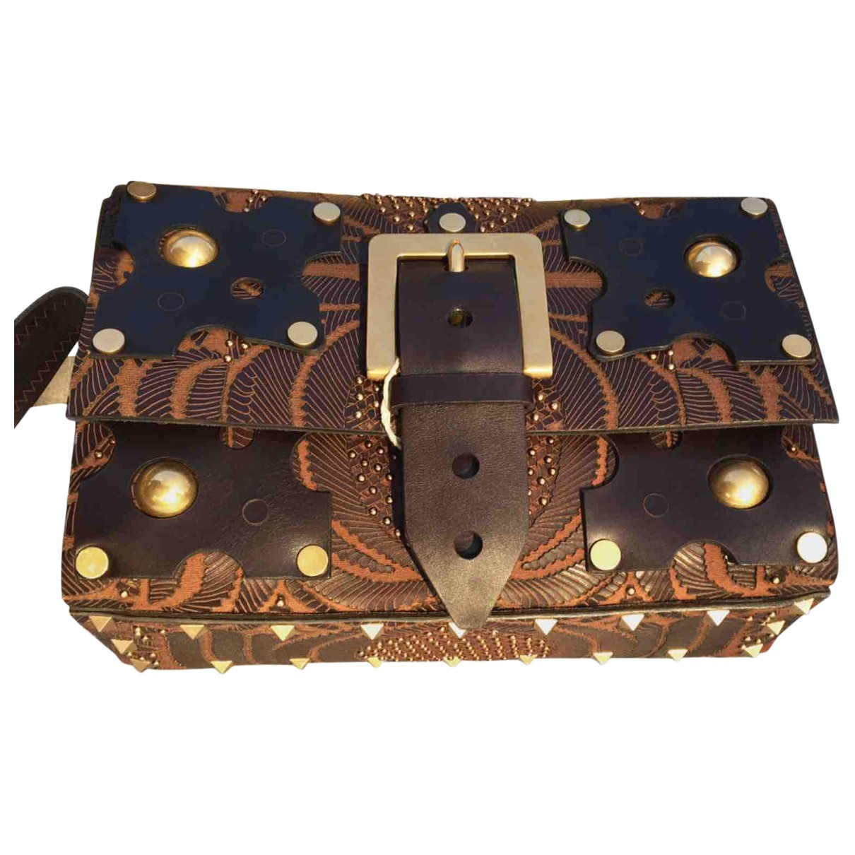 Valentino Garavani \N Brown Leather handbag for Women \N