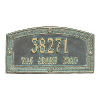 1877BV Personalized Hamilton Plaque - Estate - Wall - 2 line in