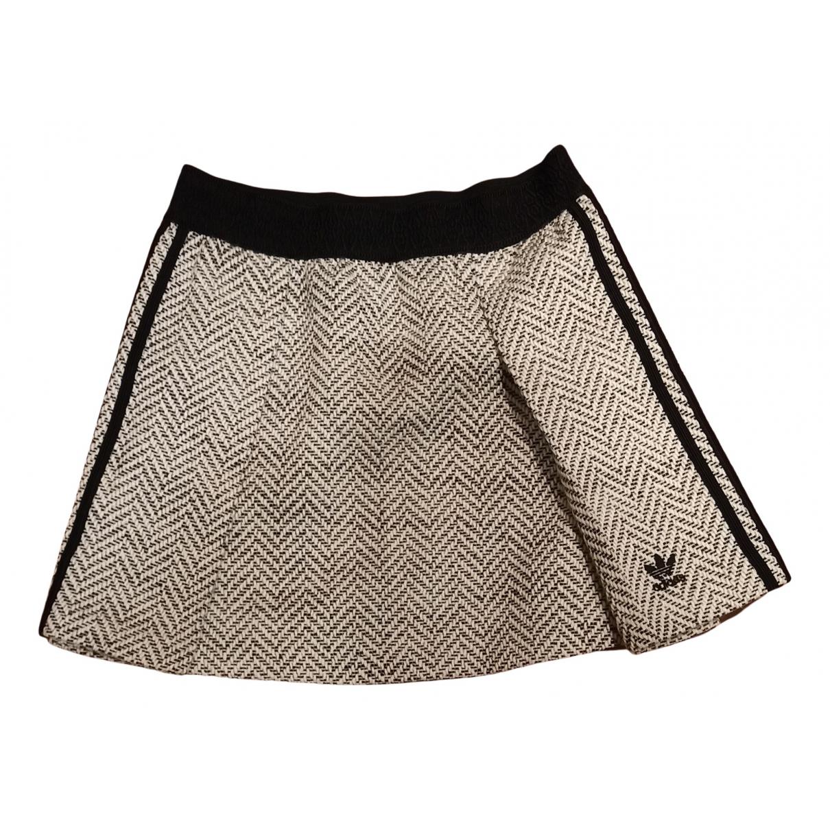 Adidas \N Rocke in  Weiss Wolle
