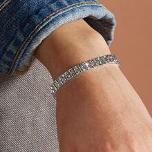 1pc Rhinestone Decor Bracelet