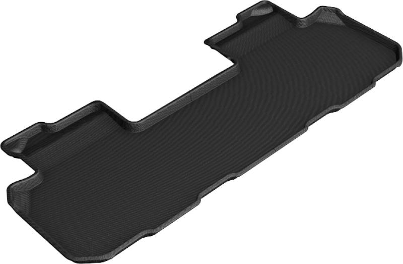 3D MAXpider 2018-2020 Chevrolet/Buick Traverse/Enclave Kagu 2nd Row Floormats - Black